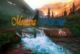 Montana Water Color